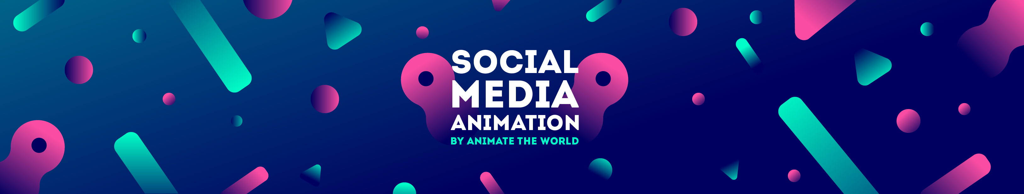 Social animation header